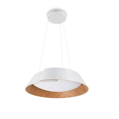 Nonagon lampa wisząca 2x10W LED 230V biała