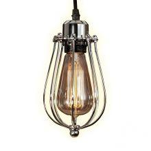 Kopenhagen lampa wisząca 1x40W E27 230V chrom