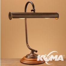 120/35 lampka stołowa 2xe14  15W mosiądz