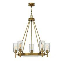 Collier lampa wisząca 5x100W E27 230V