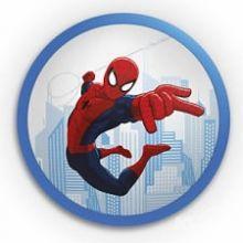 DISNEY Spiderman plafon scienny led 1x4W