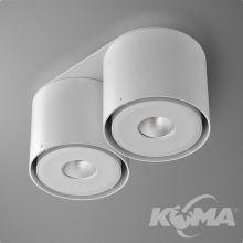 Tuba oprawa sufitowa 18,2W LED 230V biała
