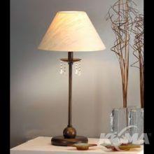 095 lampka stołowa E27/28W ziemisty brąz