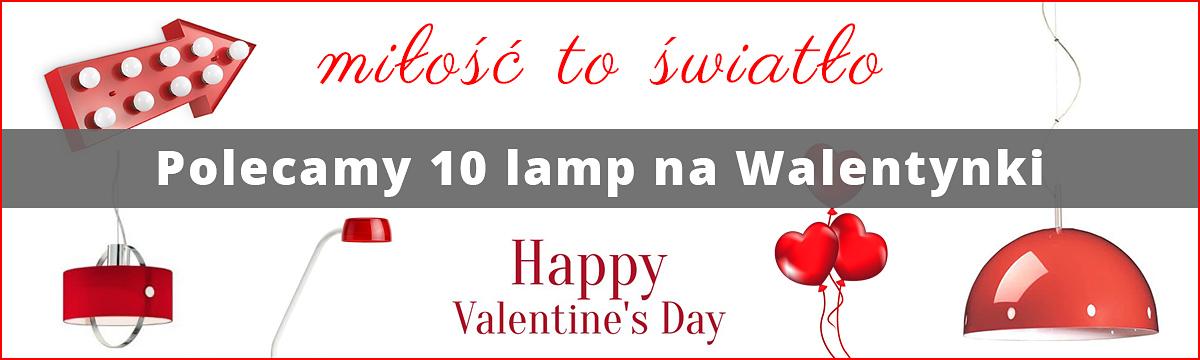 Lampy na Walentynki