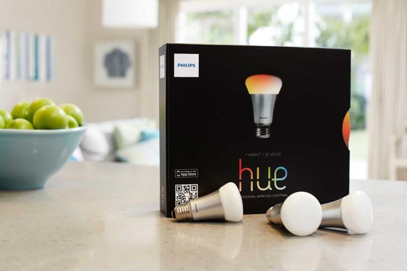 System sterowania oświetleniem HUE