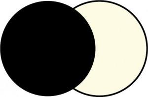 Plus on reflektor sufitowy czarny 2x12.8w 3000k 2005lm  regulacja kąta 15 ° do 50 °