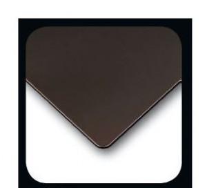 Tau mini lampa stolowa 1x60W E27 skora ciemny braz/len