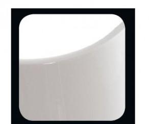 Ferrara lampa stolowa 2x60W E27 braz/wstazka biala h61cm