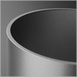 Modern Glass Flared TP lampa wisząca 1x60W E27 230V aluminium (fi45)