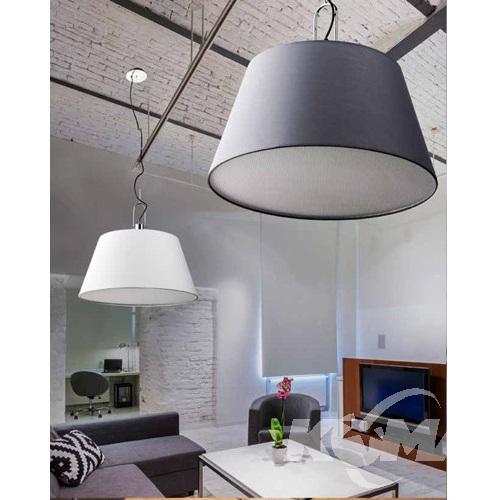 Alicante lampa wisząca 1x60W E27 230V biała