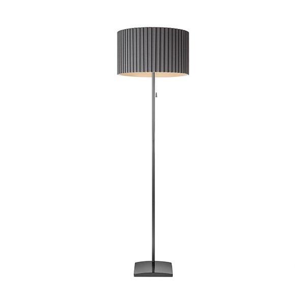 Penelopa lampa podłogowa 1x60W E27 230V szara