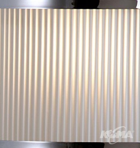 B801 oprawa wiszaca 1x150W E27 chrom/szklo