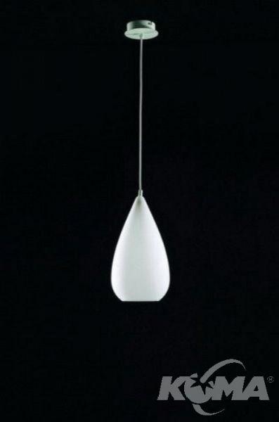 Palma lampa wiszaca 1x20W E27 bialy IP44