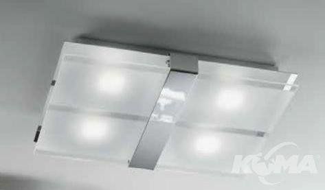 Plafon led chrom