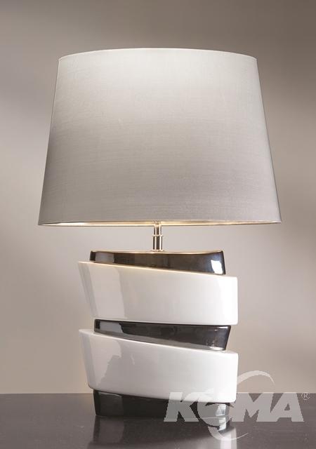 Pisa Lampa stołowa 1x60W E27 + abazur LS1112
