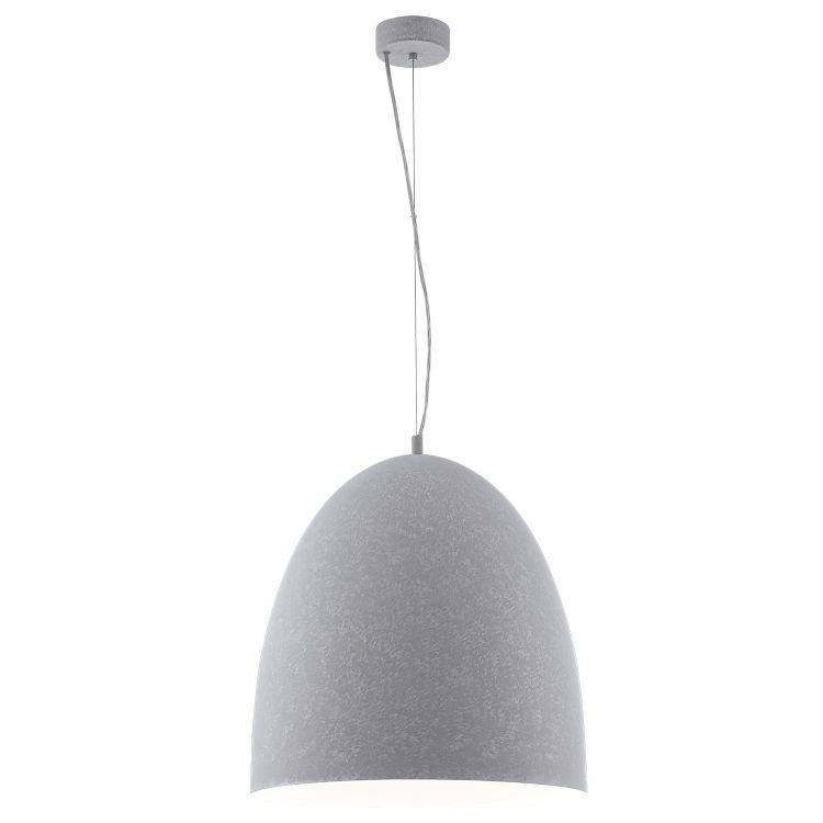 Sarabia lampa wisząca 48,5cm 1x60W E27 230V szara