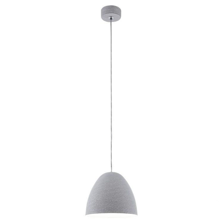 Sarabia lampa wisząca 27,5cm 1x60W E27 230V szara