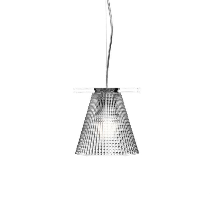 Light air lampa wisząca 1x5W E14 14cm kryształowy