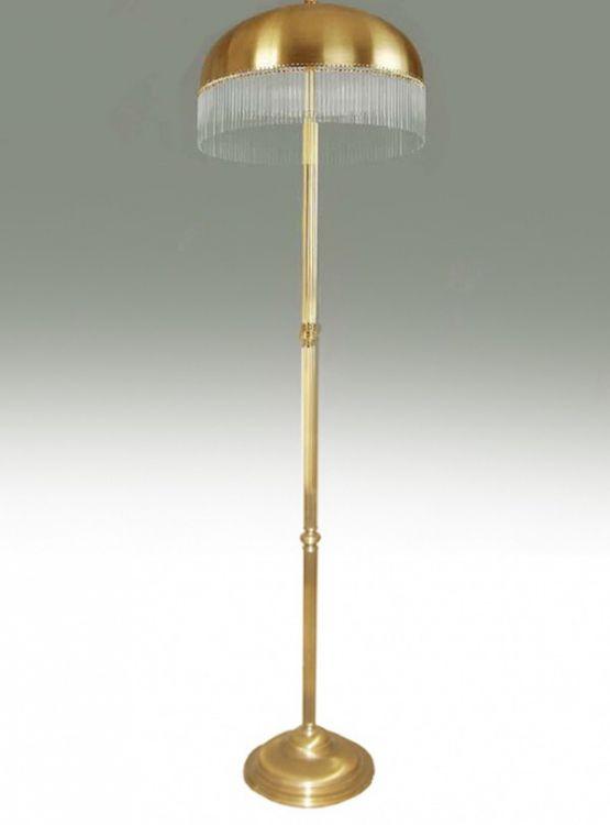 Lampa podłogowa 3xe27 60W patyna