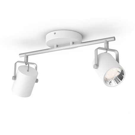 Byre reflektor 2x4,3W LED 230V biały