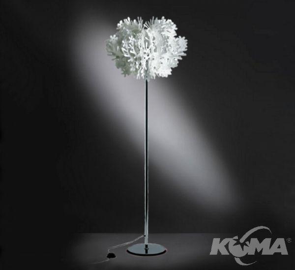 Fiorella lampa podlogowa 1x24W E27 bialy
