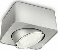 sufitowa GX53/8W aluminium Oprawa PHILIPS
