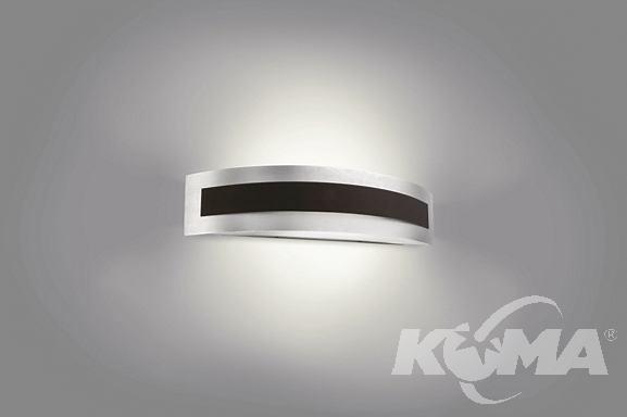 wall lamp antracit kinkiet E27 Foulard PHILIPS