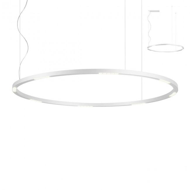 lampa wisząca biała Union REDO