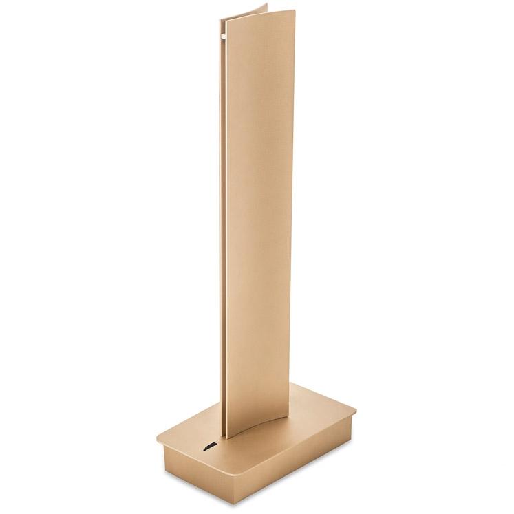 BRAVO lampa stołowa 1x39W LED 43cm złoty