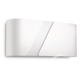Gainsboro wall lamp white kinkiet E27 1x23W bialy