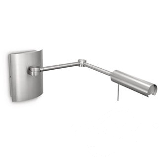 Fireside wall lamp led nickel kinkiet 1x6.5W nikiel
