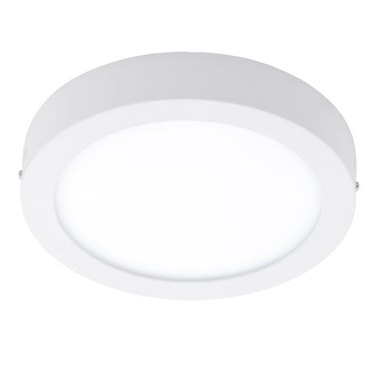 Fueva plafon Ø 30cm. biały 24W LED 230V