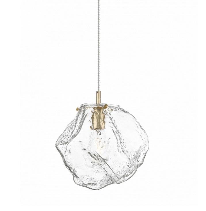 lampa wisząca transparentna Rock ZUMA