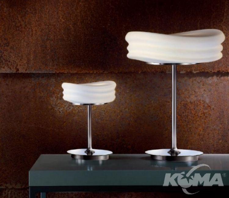 Mediterraneo lampa stolowa 2xgu10/9W biala