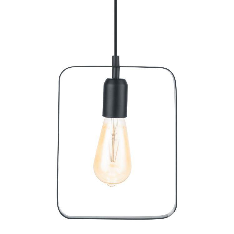 Bedington lampa wisząca 1x60W E27 230V czarna