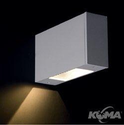 Light i kinkiet 1x3W led 3100k szary