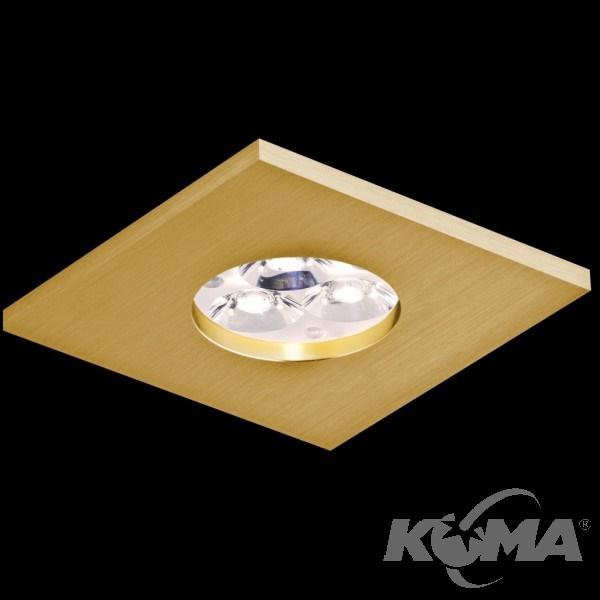 Classic oprawa wpuszczana złota Su BPM Lighting