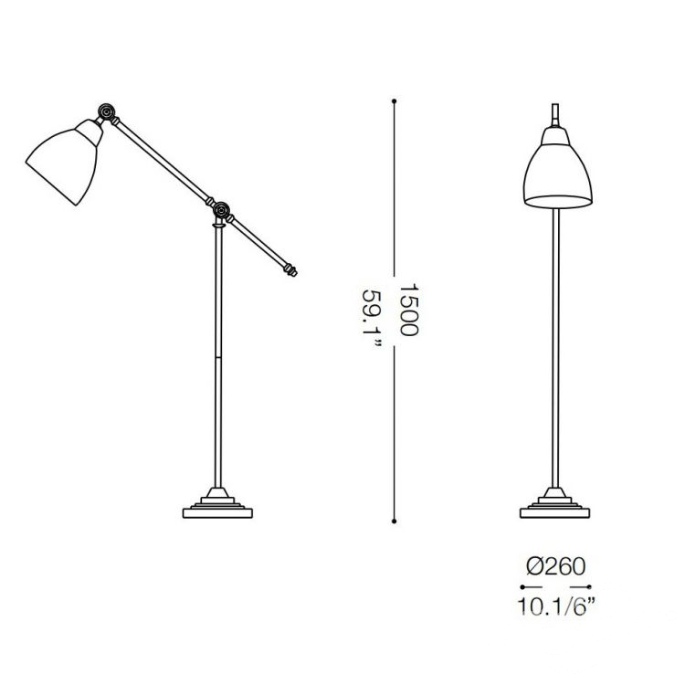 lampa podłogowa Newton IDEAL LUX
