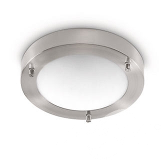 Treats ceiling lamp nickel plafon G9 1x28W nikiel