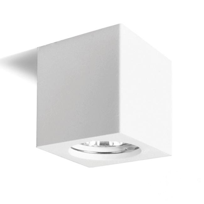 Gemma lampa sufitowa 11.2cm 1x35W GU10 230V biała