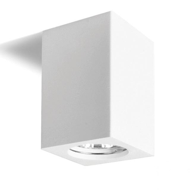Gemma lampa sufitowa 14cm 1x35W GU10 230V biała