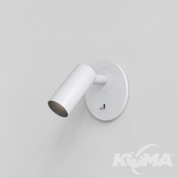 recess switched reflektor led biały Micro ASTRO