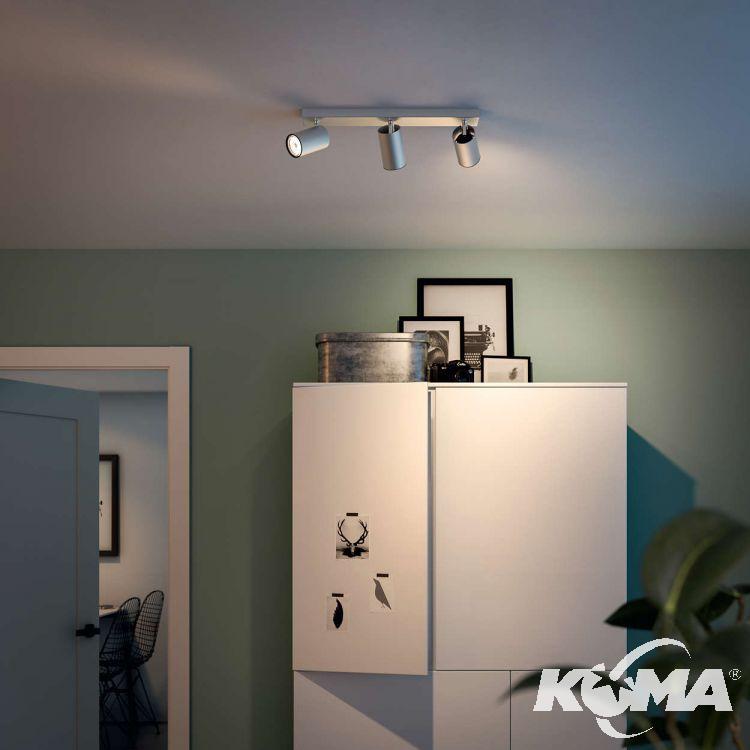 Kosipo listwa sufitowa-reflektor 3x10W GU10 230V aluminium