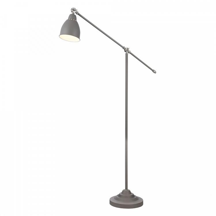 Domino lampa stojąca 1x40W E27 230V szara