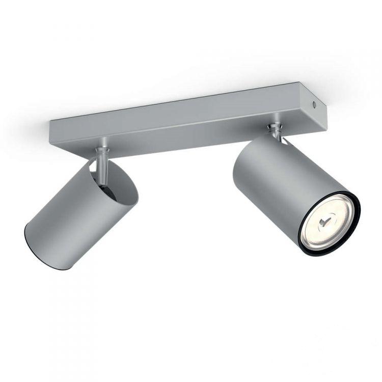 Kosipo listwa sufitowa-reflektor 2x10W GU10 230V aluminium