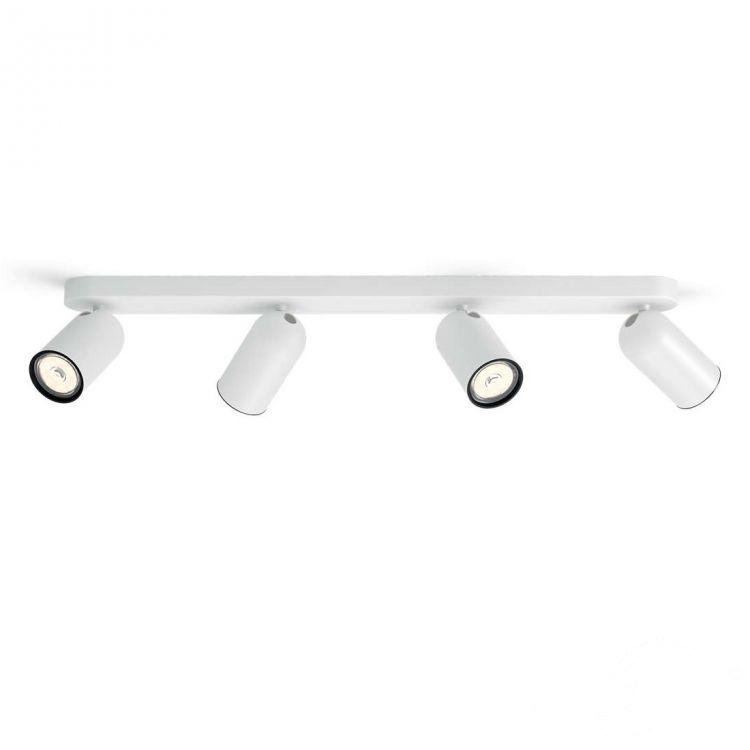 Pongee listwa sufitowa-reflektor 4x10W GU10 230V biały