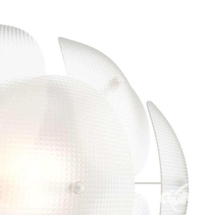 Roseval kinkiet 1x60W E27 230V transparentny