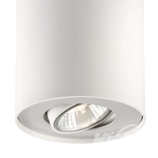 Pillar oprawa sufitowa 1x50W GU10 230V biała/aluminium