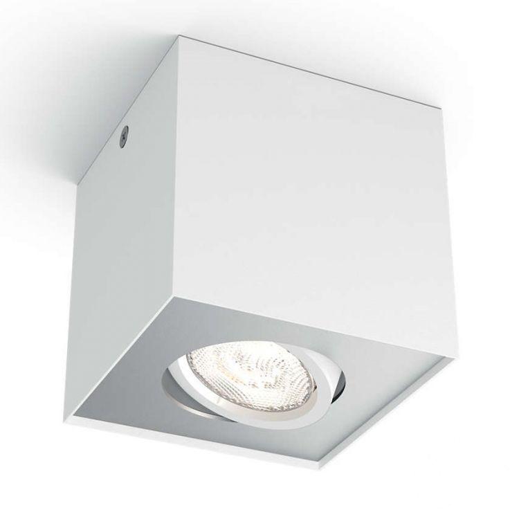 Box lampa sufitowa 4,5W LED 230V biała