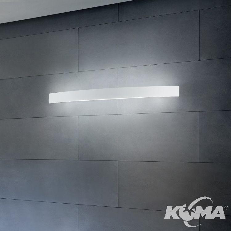 kinkiet łazienkowy biały Łukowy Linea Light